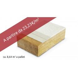 FIBRA DI LEGNO PROTECT DRY 110 spessore120 spigolo vivo