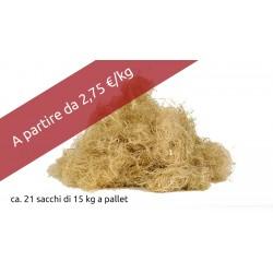 FIBRA DI CANAPA CANAWOOL fibra di canapa sfusa