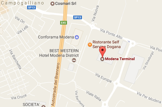 magazzino modena terminal